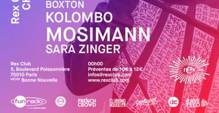 Change Your Mind: Boxton, Kolombo, Mosimann, Sara Zinger