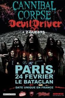 Cannibal Corpse + Devildriver