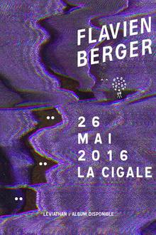 Flavien Berger en concert