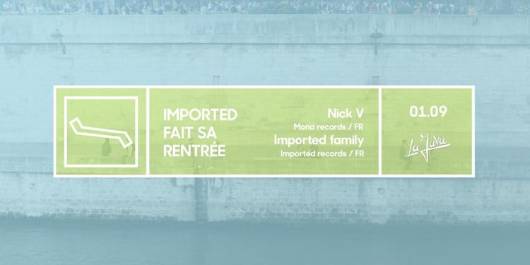 Imported fait sa rentrée - Nick V, Mara Lakour & Imported Family