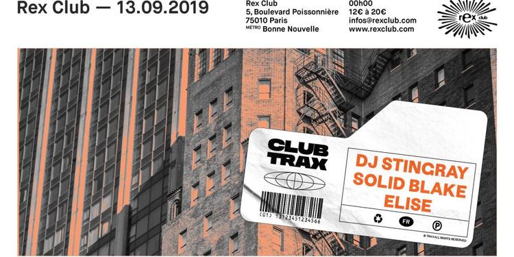 Club Trax: DJ Stingray, Solid Blake, Elise