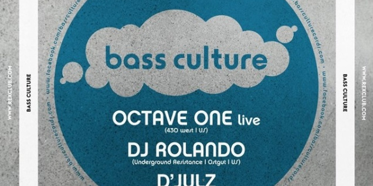 RexClub 25 Years présente Bass Culture