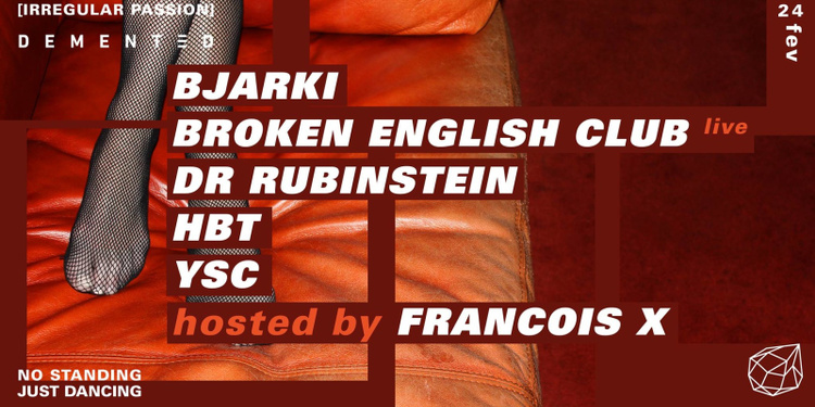 Concrete: Irregular Passion hosted by Francois X