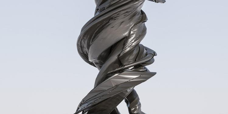 """Hommage à Arago"" Inauguration de la statue d'Arago dans les jardins de l'Observatoire de Paris"