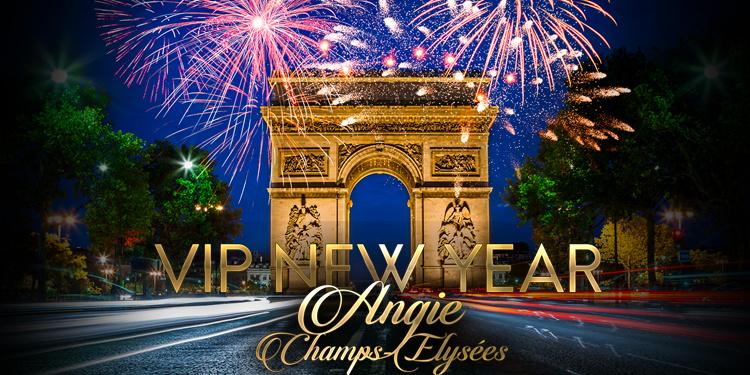 VIP NEW YEAR 2021 : Champs-Elysées