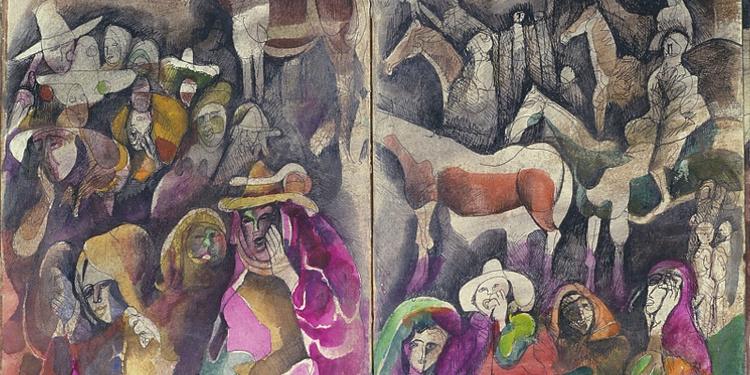 A la plume, au pinceau, au crayon : dessins du monde arabe
