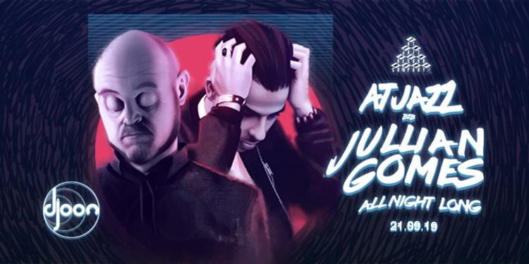 Djoon x Arco 10 Years: Atjazz B2B Jullian Gomes all Night Long