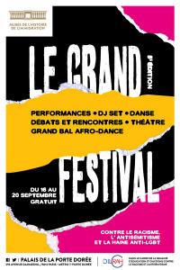Grand Festival - Palais de la Porte Dorée - du mercredi 16 septembre au dimanche 20 septembre