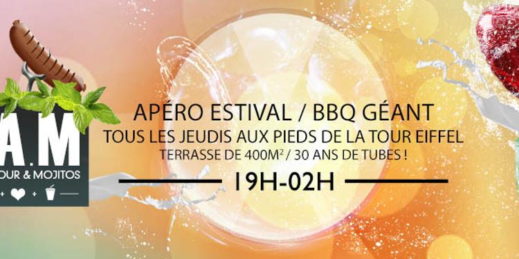 BBQ Amour & Mojitos en Plein Air