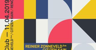 REX Club presente: Reinier Zonneveld Live, Citizen Kain, Renö