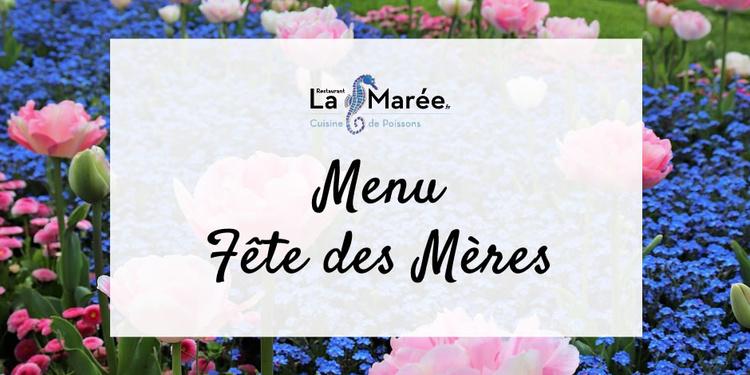 LA FÊTE DES MÈRES À LA MARÉE !