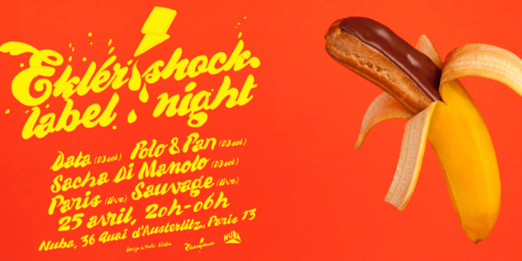 Ekler'o'Shock Label Night