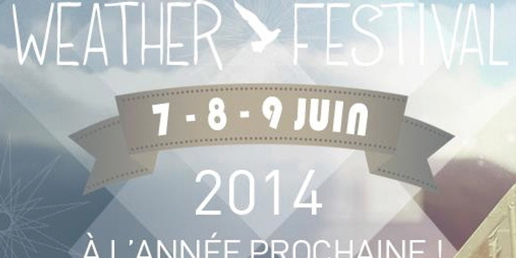Weather Festival Paris 2014