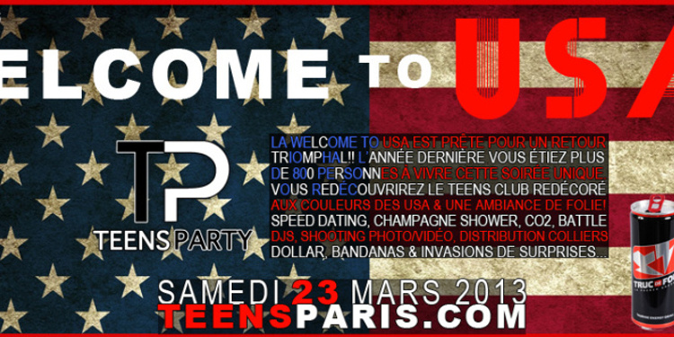 Teens Party - Welcome to USA v.2