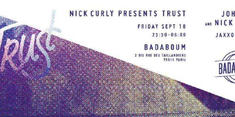 Nick Curly presents Trust / [APPART] We Are Gold Diggers