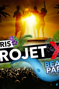 projet x beach party - California Avenue - samedi 18 juillet