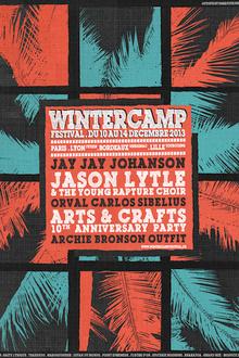 Winter camp festival : Jay Jay Johanson