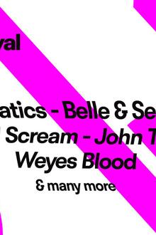 Pitchfork Music Festival Paris : Chromatics x Belle & Sebastian x Primal Scream