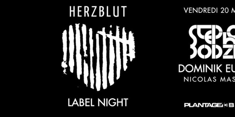 Herzblut Night : Stephan Bodzin, Dominik Eulberg & Nicolas Masseyeff