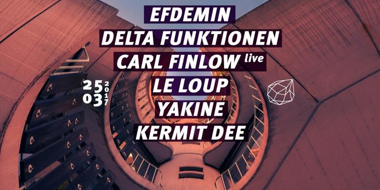 Concrete: Efdemin, Delta Funktionen, Carl Finlow, Le Loup