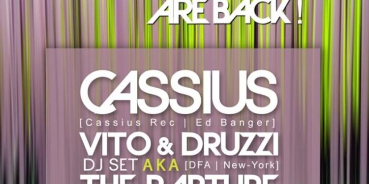 Open House Cassius, The Raputre dj set & Paco
