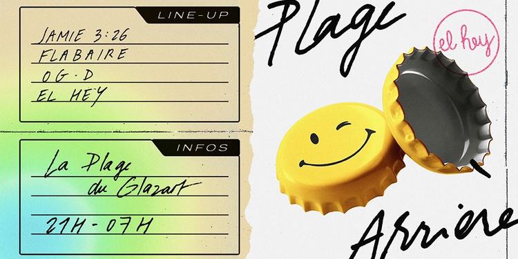 El Hey - Plage Arrière [Open Air] w/Jamie 3:26, Flabaire & OG.D