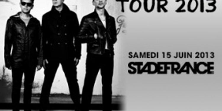 Depeche Mode en concert au stade de France