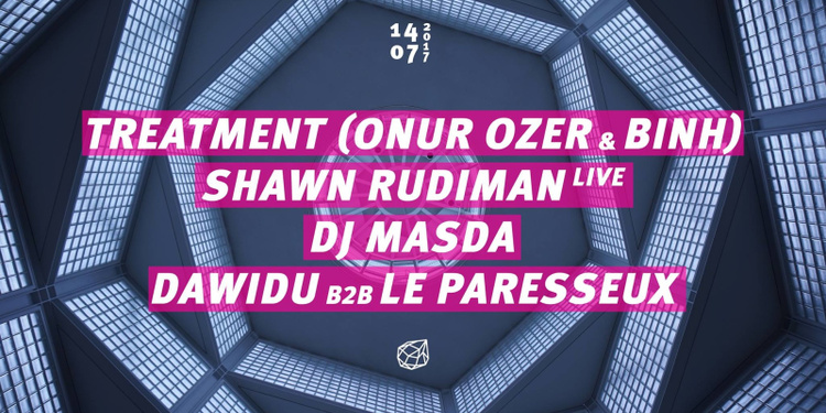 Concrete: Treatment, Shawn Rudiman Live, Dj Masda