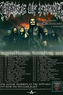 Cradle Of Filth en concert