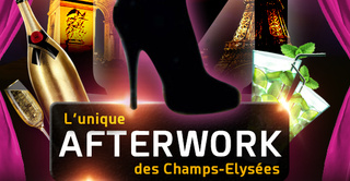 AFTERWORK MOJITO @ MADAM CLUB CHAMPS ELYSEES ( OPEN BULLES & BUFFET )