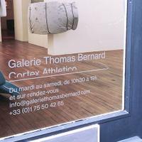 La Galerie Thomas Bernard - Cortex Athletico