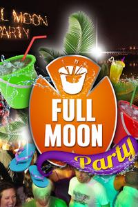 FULL MOON PARTY - California Avenue - vendredi 10 janvier 2020
