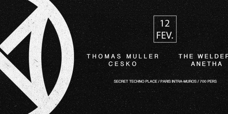 OPENING ✖ SECRET PLACE ✖ INVERSE w/ Thomas Muller, Cesko, The Welderz & Anetha