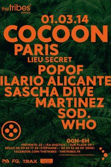 The Tribes presents COCOON Night