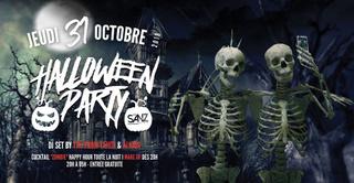 Halloween Party au Sanz Bastille