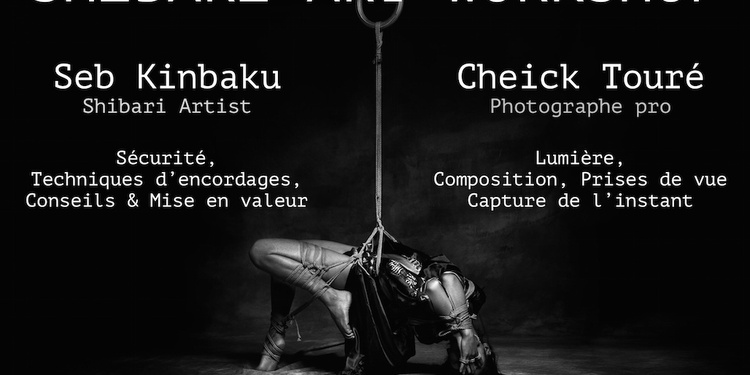 SHIBARI ART WORKSHOP PARIS 2019