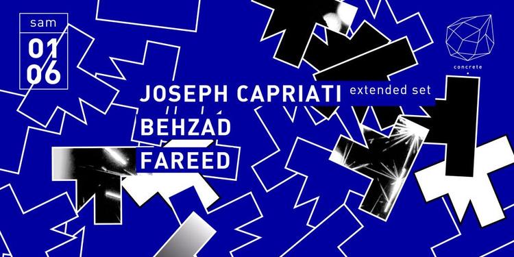 Concrete: Joseph Capriati, Behzad, Fareed