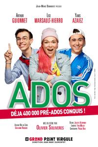 Ados - Le Grand Point Virgule - du sam. 30 nov. 2019 au dim. 31 mai 2020