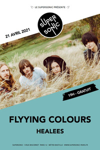 Flyying Colours en concert au Supersonic - Le Supersonic - mercredi 21 avril 2021