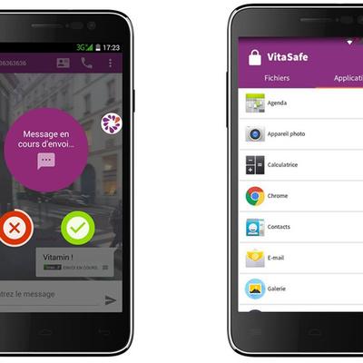 Vitamin A : le premier smartphone qui vous invite à participer à son avenir
