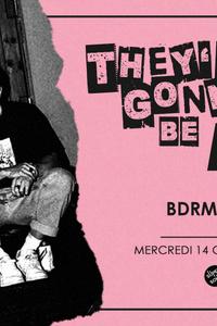 They're Gonna Be Big - BDRMM en concert au Supersonic - Le Supersonic - mercredi 14 octobre