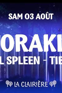 La Clairière : Worakls, Will Spleen, Tibo'z - La Clairière - samedi 03 août