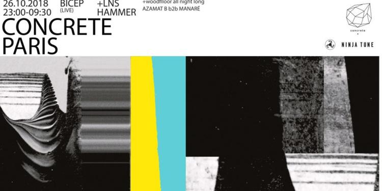 Concrete Pres. 'Feel my Bicep': Bicep Live, LNS, Hammer, Azamat b2b Manaré