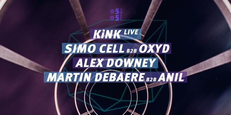 Concrete : KiNK x Simo Cell b2b Oxyd, Martin Debaere b2b Anil