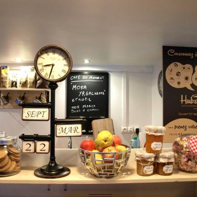 Hubsy, un nouveau café douillet pour travailler à Paris