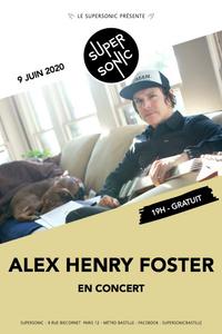 Alex Henry Foster and the long shadows en concert au Supersonic - Le Supersonic - mardi 09 juin