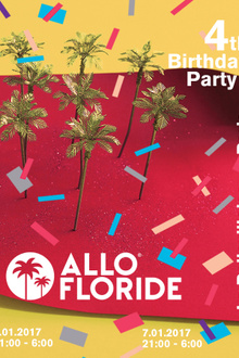 Allo Floride 4th Birthday Party