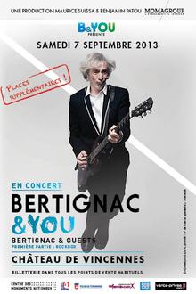 Concert Bertignac & You