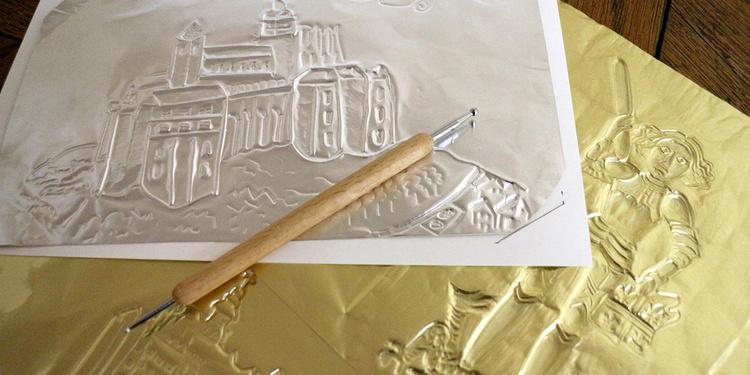 """Atelier """"Carte en métal"""" au musée"""