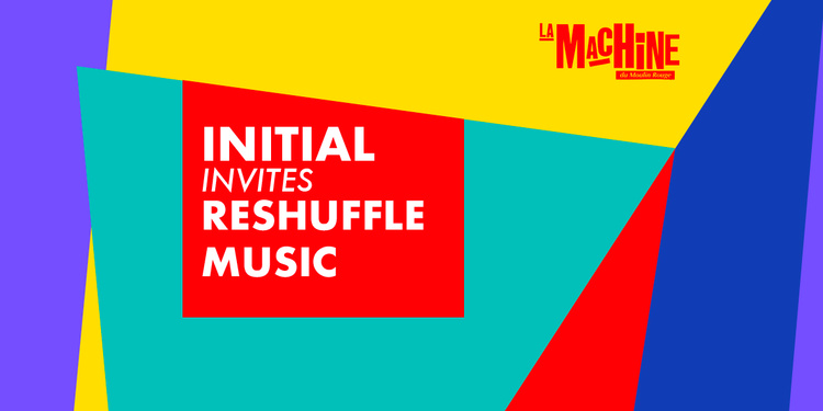Initial invites Reshuffle Music • Sweely (live)